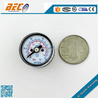 "1"" 25mm 1 inch dial mini sensor pressure gauge"