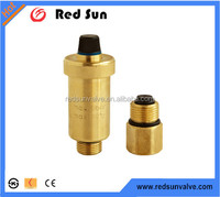 HR6050 factory manufacture forged brass air vent pressure relief valve