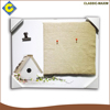 White frame rectangle school decoration stationery product drawing board