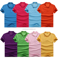 65% Polyester 35% Cotton Custom Printing Mens Polo Shirt