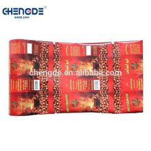 Made in China OEM Cheap and high quality coffee sachet packaging plastic film roll