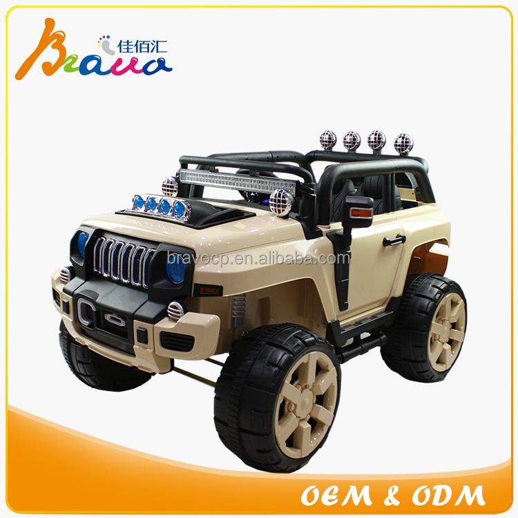 2016 new model children 12V battery large size 4x4 Suspension System Ride-on Jeep