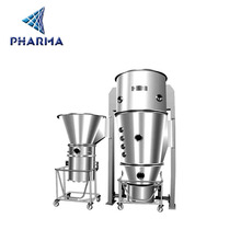 High quality and good price powder granule fluid bed dryer