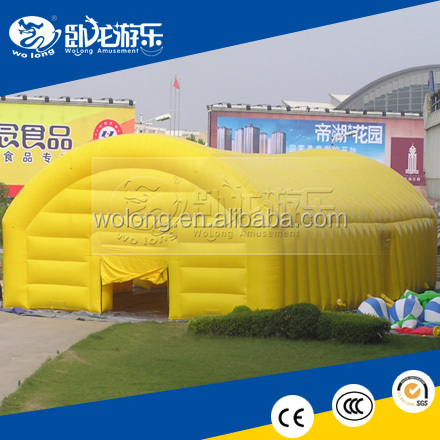 Huge commercial inflatable tent / cheap inflatable bubble tent for party