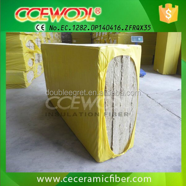 Ccewool 80mm thermal rockwool insulation board buy for Rockwool insulation board