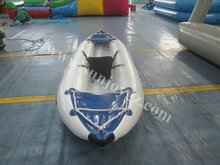 Sunjoy new pvc inflatable sailing boat Raft Canoe yacht