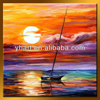 Wholesale Handmade Landscape Wall Picture Painting Home Decor Art Gallery