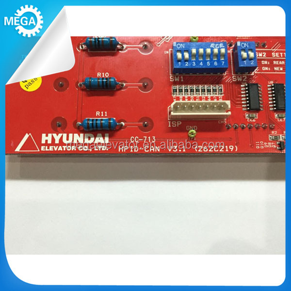 HYUNDAI elevator pcb HYUNDAI display board HPID-CAN V3.1