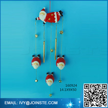 Angel shape wind chime hanging wind-bell decoration ceramic aeolian bells