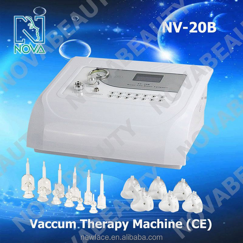 NV-20B Intelligent & Magical vacuum sucking nude breast massage with vacuum for Breast Enhancers & Vacuum Therapy