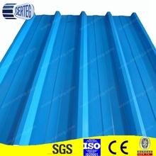 YX35-125-750 prepainted trapezoid profiled steel roofing sheets/color coated steel tile
