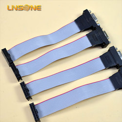 26awg flat ribbon cable 1.27mm flat ribbon cable to vga cable female
