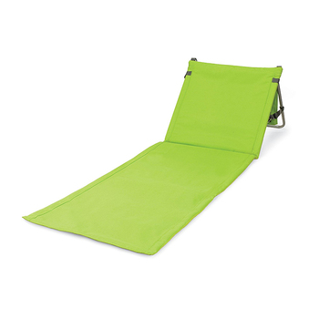 Folding fashion beach chair Sturdy mental frame fast dry oxford outdoor mat