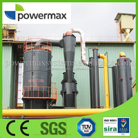 rice hull biomass gasification with syngas generator set