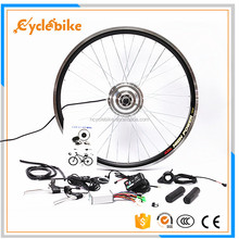 Energy efficient 250w brushless geared electric bicycle hub motor conversion kit