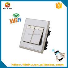 CE certification rf 433mhz wifi switch with iOS/Android app control