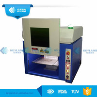 Cabinet/Hand hold/Vertical 20W 30W 50W Fiber Laser Marking Machines For Animal Ear Tag Barcode Recognization
