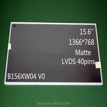 New 15.6'' Thickness B156XW04 V0 LCD Monitors For Laptop 1366*768 LVDS 40Pins B156XW04 V01 LCD Screen Display Panel