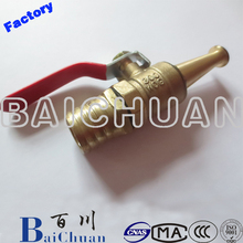 Copper Plating Fire Hose Reel Nozzle /Water Jet Nozzle/Fire Jet Spray Nozzle