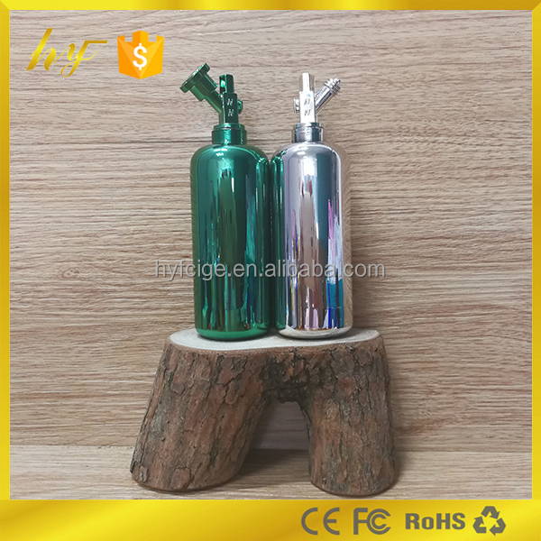 hot selling new design NOS e liquid bottle in PP material with electroplated surface