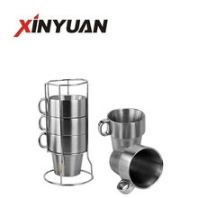 Many model of stainless steel coffee cup