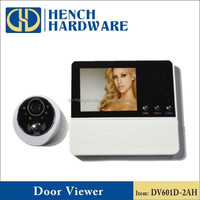 Smart peephole viewer camera doorbell security systems