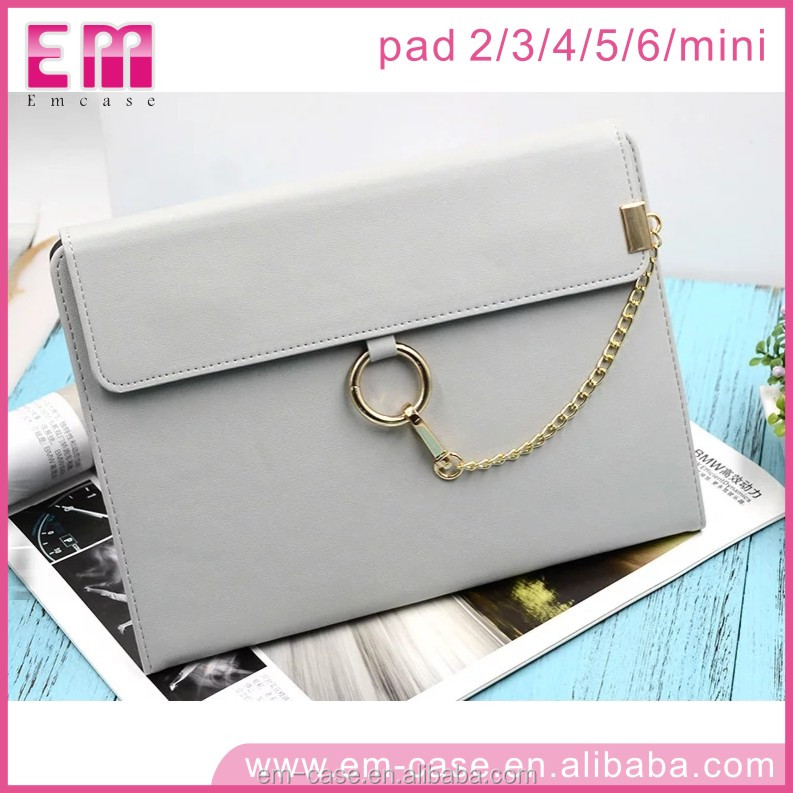 2017 New Arrivals Lady Handbags Case Fashion Portable Protective Leather Case Cover for iPad 2/3/4/5 Mini