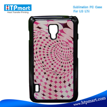 2D pc blank sublimation phone case for lg p715 optimus l7 ii