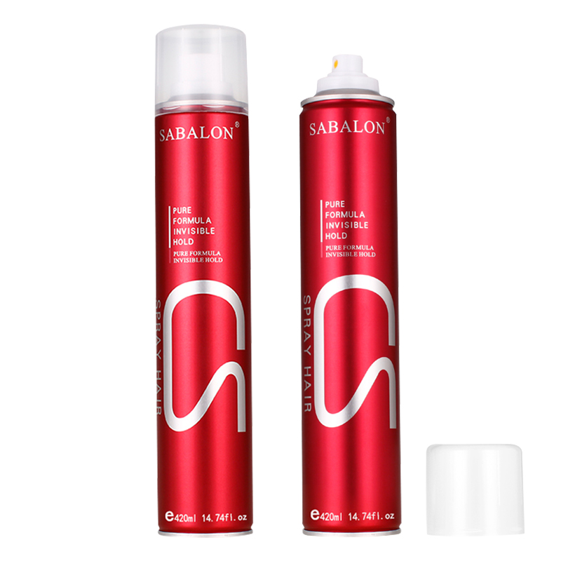 non greasy super hard hair spray with private label