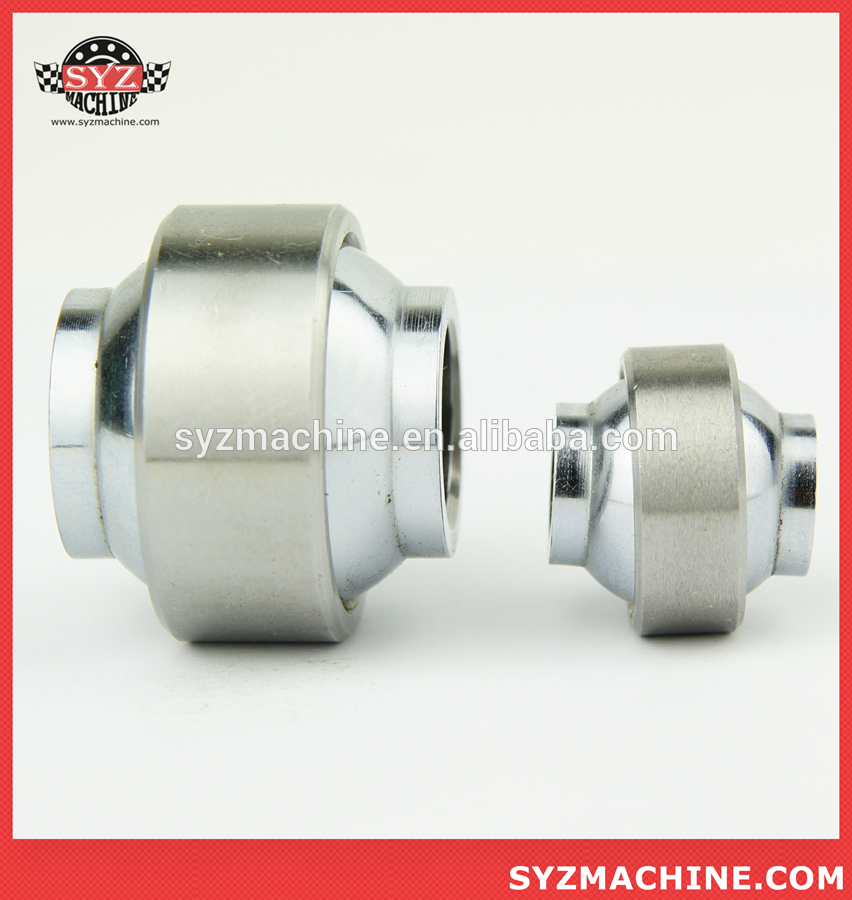 Stainless steel high Misalignment inch radial plain spherical bearing