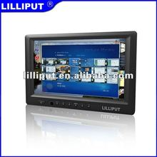 "Lilliput 7"" LCD Touch Monitor with DVI & HDMI Input.669GL-70NP/C/T better than feelworld"