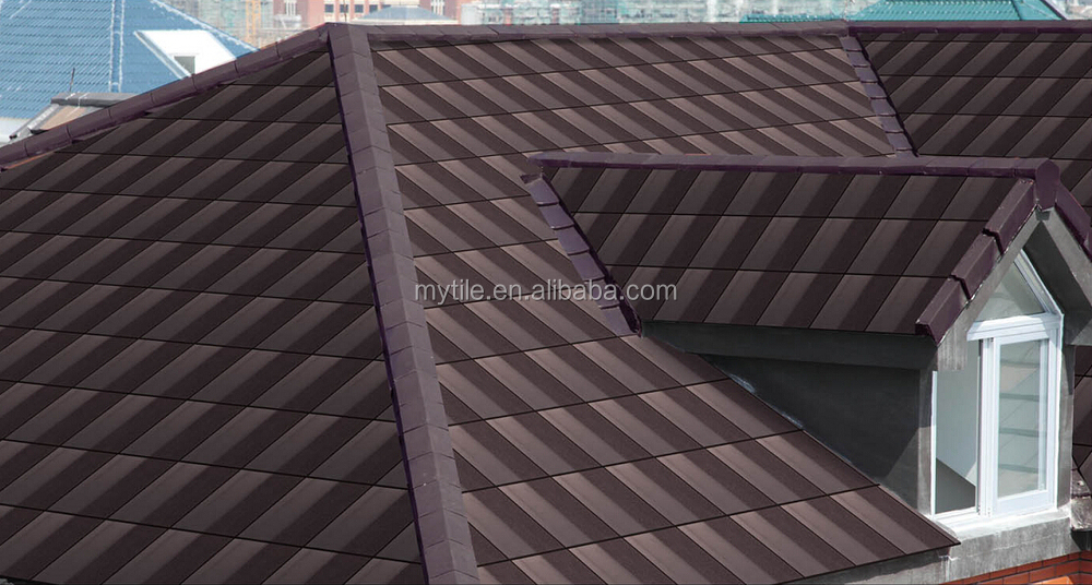 Chinese flat clay roof tile