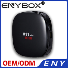 V11 mini RK3229 1G 8G 4 K Android TV Box tv box 100 M per i commerci all'ingrosso full hd kodi 17.1 pre-installato set top box