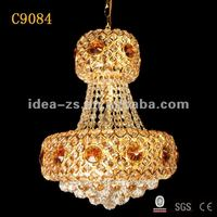 Roof hanging cheap crystal chandelier lighting fixture C9084