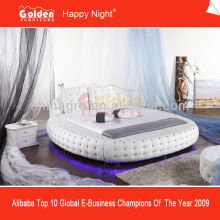 Diamond Luxury King Size Round Bed On Sale