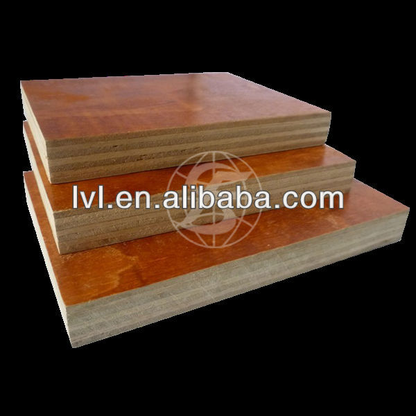colourful melamine laminated plywood board for furniture