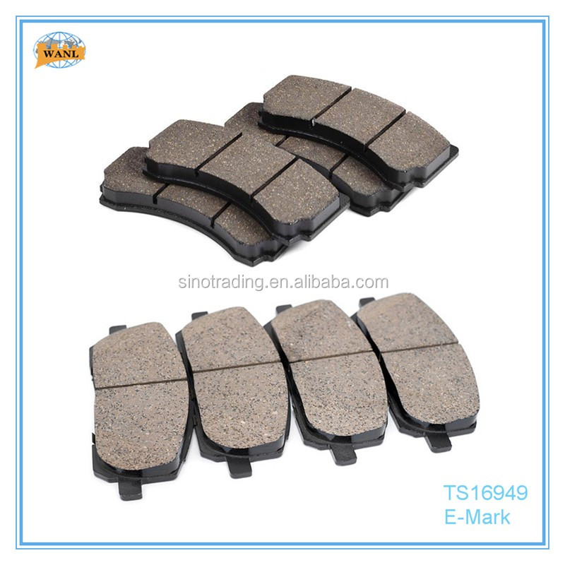 China auto parts brake pad hi-q