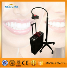Dental chair unit teeth whitening machine/ tooth whitening light for sale, Big promotion now