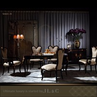 JT26-01 Neo-Classic Dinner Table in Dining Room from JL&C Luxury Home Furniture New Designs