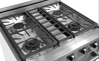 HRG3031U commercial restaurant equipment gas stove