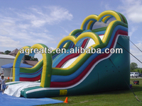 2013 Hot sale giant inflatable water slide G4040