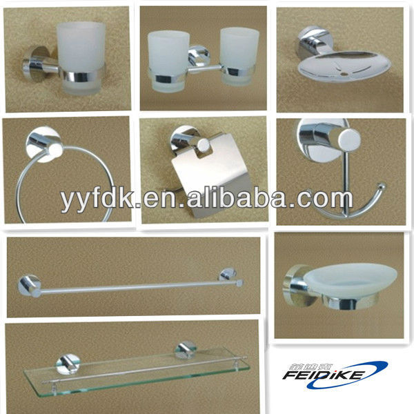 YUYAO FEIDIKE bathroom accessories set,6pcs set 7pcs set