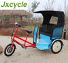 popular jinricksha three wheel motor tricycle rickshaw used