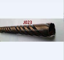 J023 Foshan 0.5MM Thickness Iron Twisted Curtain rod for Home Decor
