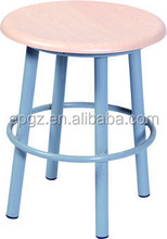 Round Stool for Students, Student Computer Chair, Student Stool