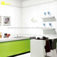 glazed kitchen wall tile design from china supplier
