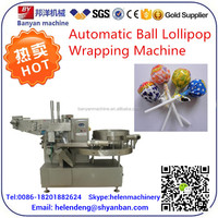 YB-120 Ball lollipop bunch wrapping machine