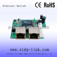 shenzhen factory oem 2 port ethernet switch module