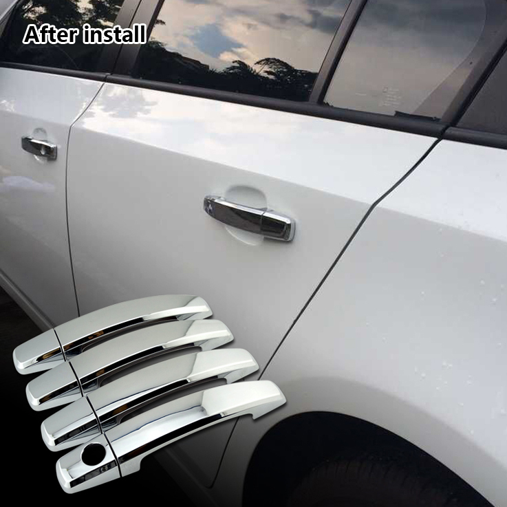 Chrome auto door handle accessories for Chevrolet Cruze door handle cover