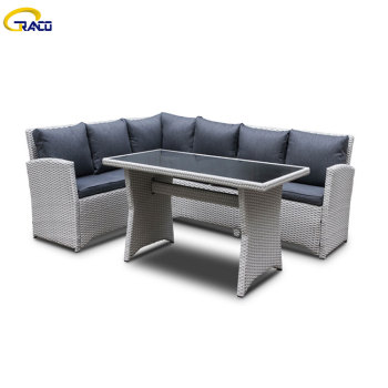Hot sale comfortable type rattan outdoor sofa cheap outdoor sofa